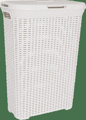 CURVER Koš na prádlo Natural Style 60l, bílý