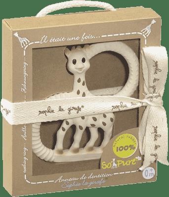 VULLI Extra miękki gryzaczek żyrafa Sophie z kolekcji So'Pure