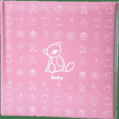 FOTOALBUM dětské 200 fotografií (10x15cm) - růžové