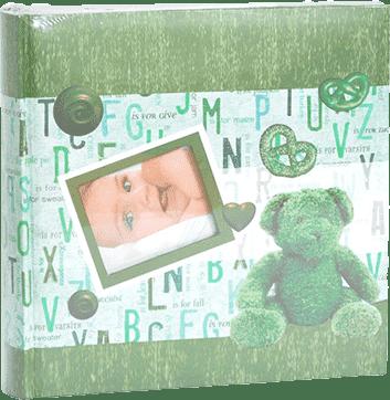 Album na zdjęcia formatu 10 x 15 - 200 zdjęć. Zielony