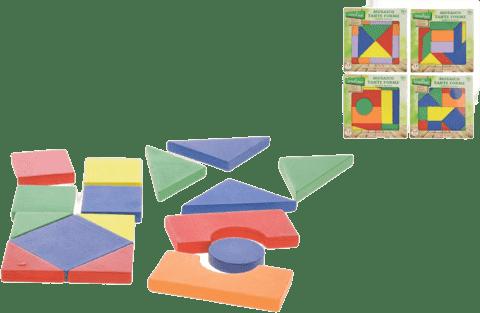 LEGNOLAND Mozaika dřevěná - různé druhy