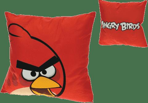 MIKRO TRADING Poduszka Angry Birds – czerwona