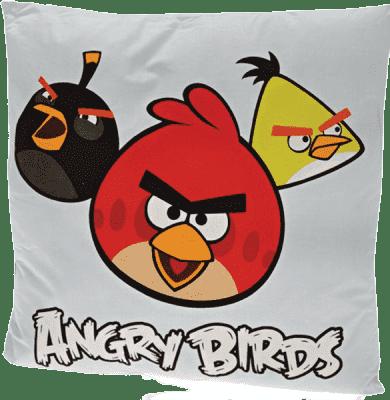 MIKRO TRADING Polštář Angry Birds modrý