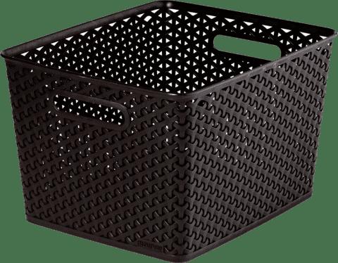 CURVER Košík My Style Box L, hnedý