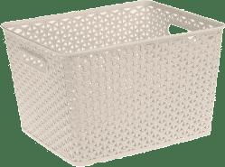 CURVER Košík My Style Box L, bílý