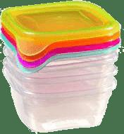 CURVER Škatuľky na jedlo Fresh & Go 4x 0.25l