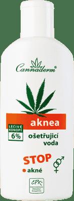 CANNADERM Aknea ošetrujúca voda 200ml
