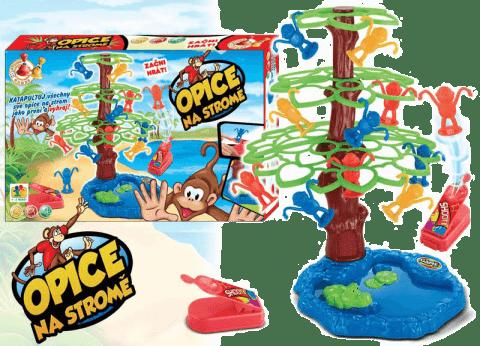 HM STUDIO Opice na stromě