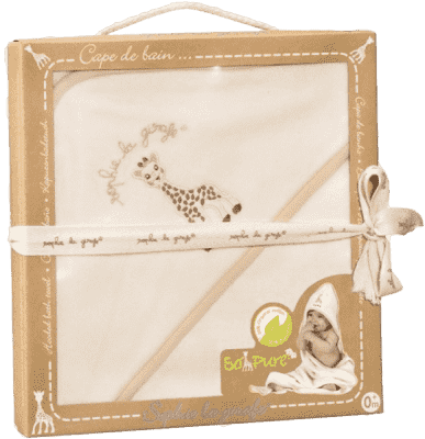 VULLI Ręcznik z kapturkiem z bambusem