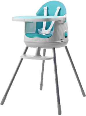 KETER Jídelní židlička, modrá