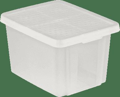 CURVER Úložný box s vekom Essentials 26l, priehľadný