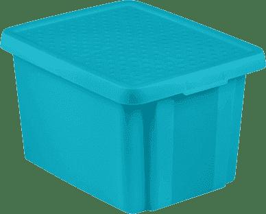 CURVER Úložný box s vekom Essentials 26l, modrý