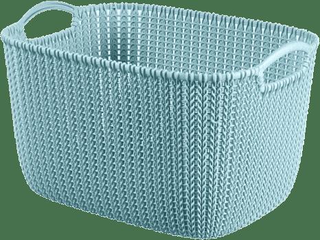 CURVER Košík obdĺžnikový Knit 19l, modrý