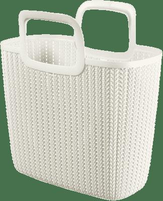 CURVER Nákupní taška Knit, bílá