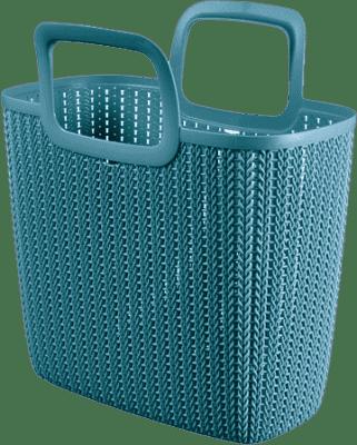 CURVER Nákupní taška Knit, modrá