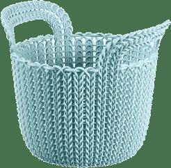 CURVER Koszyk okrągły Knit 3l, niebieski