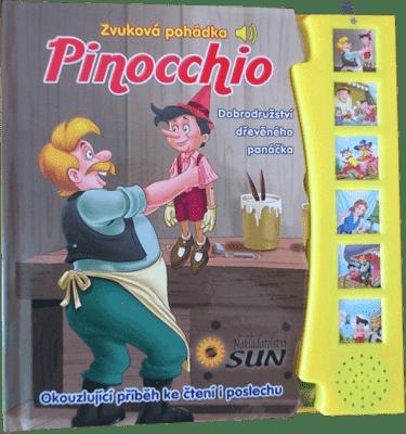 KNIHA Zvuková pohádka - Pinocchio