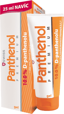 SWISS Panthenol 10% PREMIUM żel 100+25ml gratis