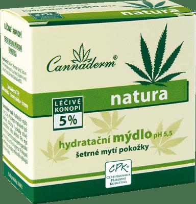 CANNADERM Natura hydratačné mydlo 100g