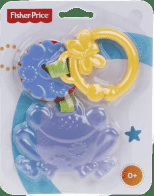 FISHER-PRICE Kolekcia závesných hrkálok ASST 1 – žaba