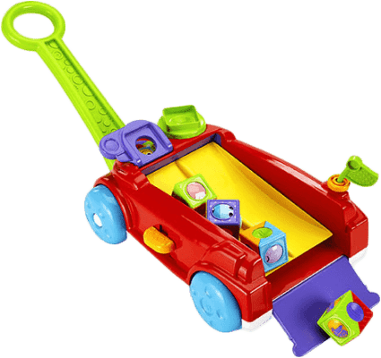 FISHER-PRICE Vozík s kockami