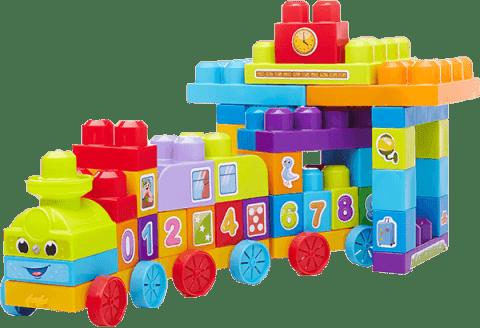 MEGA BLOKS FB Edukacyjny 123 pociąg (Premium klub)