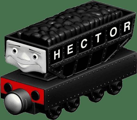 FISHER-PRICE Lokomotywa Hektor - czarna
