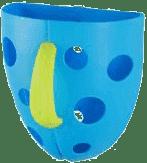 BABY ONO Box na hračky do vane – modrá