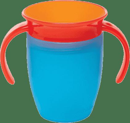 MUNCHKIN – Kubek niekapek dla dzieci 360° z uszami 207ml – niebieski