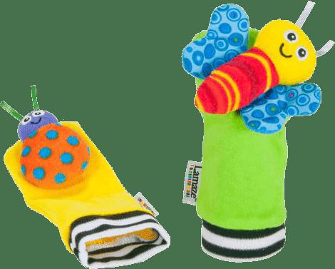 LAMAZE Chrastící ponožky
