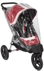 BABY JOGGER Pláštěnka City Elite - Transparent