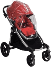 BABY JOGGER Pláštěnka City Select - Transparent