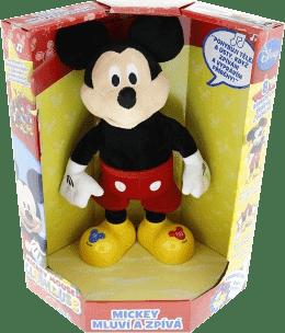 MIKRO TRADING Mickey Mouse 33cm česky mluvící a zpívající