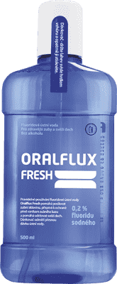 ORALFLUX Fresh 500ml ústna voda