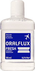 ORALFLUX Fresh 90ml ústna voda