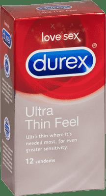 DUREX Feel Ultra Thin kondomy 10 ks