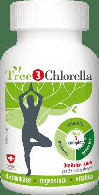 TREE3CHLORELLA 180 tabliet