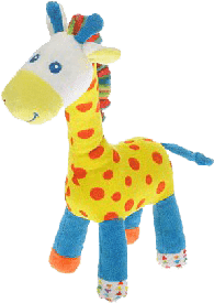 MIKRO TRADING Žirafa farebná