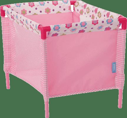 HAUCK Turystyczne łóżeczko dla lalek – wzór kwiatowy 2016