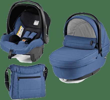 PEG-PÉREGO Set korbička + autosedačka + taška modular XL Mod bluette