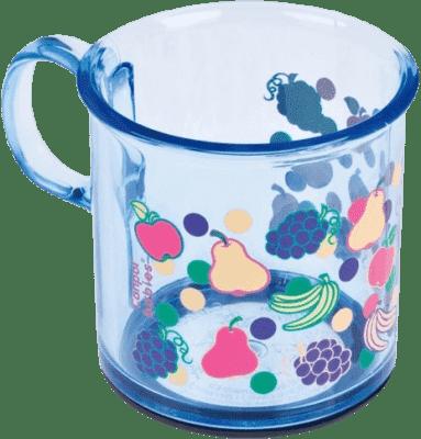 CANPOL Babies Protiskluzový hrneček – modrá