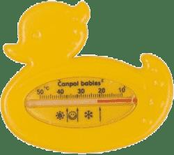 CANPOL Babies 2/781 Teplomer kúpací kačička - žltá