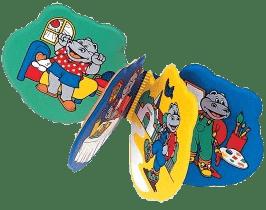 CANPOL Babies Mäkká knižka HIPPo / ZOO