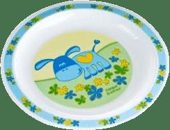 CANPOL Babies 4/411 Plastový tanier - modrá