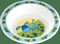CANPOL Babies Plastová miska – modrá