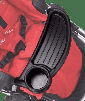 BABY JOGGER tácky pre dieťa - Select - Black