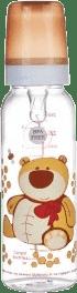 CANPOL Babies Láhev s potiskem 250 ml bez BPA – medvídek