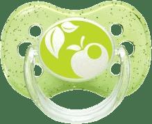 CANPOL Babies 22/435 B - Cumlík silikónový čerešnička 6-18m NATURE – zelená