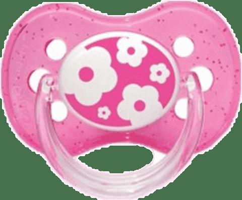 CANPOL Babies A - Šidítko kauč. třešinka 0-6m NATURE – růžové