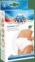 CANPOL BABIES Těhotenské kalhotky vysoké M
